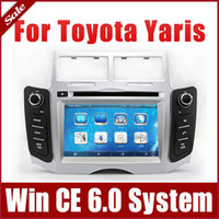 2 DIN dvd audio - 2 Din Head Unit Car DVD Player for Toyota Yaris w GPS Navigation Radio Bluetooth TV USB SD AUX G Audio Multimedia