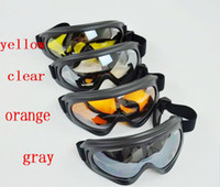 Wholesale Cool Motorcycle Motocross ATV Dirt Bike Off Road Racing Goggles glasses Surfing Airsoft Paintball