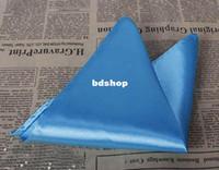 Wholesale high quality Pocket square silk kerchief mocket men s mocketer noserag pocket handkerchief snot rag
