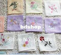 beautiful handkerchief - beautiful China Silk embroidery handkerchief for elegant women gift