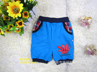 Wholesale Humen clothing factory long summer children boy shorts trousers entire single printing Paypal