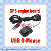 Wholesale electronics GPS engine board Module with Antenna USB G Mouse SET