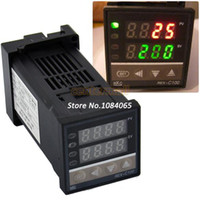 Wholesale New PID Digital Temperature Control Controller Thermocouple to Degree REX C100 TK0374
