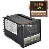 Wholesale 2Pcs PID Digital Temperature Control Controller Thermocouple to Degree REX C700 Relay Output TK0455