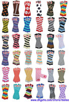Wholesale hot sale retail infant baby chevron zebra owl leg warmers baby boys football skull leopard cartoon leg warmers infant socks pair Melee