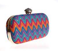 Cheap 100% Brand New women clutch bag Best Shoulder Bags Hard Case evening clutch bag