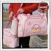 best baby bags designer nr31  4pcs set Free Shipping Diaper Bags Designer Maternity Nappy Bags Mummy Baby  Bag