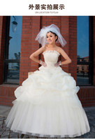 Wholesale Free Ship The bride wedding Wedding dress New style beautiful bridal veil Sale Sexy Dress