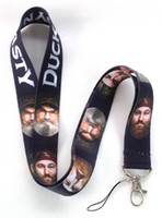 Wholesale New Popular Duck Dynasty Mobile Phone LANYARD Neck Strap Charms