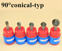 angle drill bit - different sizes single cut degree conical Included Angle Countersink CARBIDE ROTARY BURR FILE MM Shank