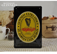 20cm X 30cm/8inch x12inch beer stout - 20 cm GUINNESS EXTRA STOUT ST JAMESS S GATE DUBLIN Beer Poster Tin Sign Bar Pub Decor Metal Painting