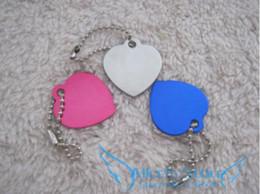 New 50pcs lot Creative cute Love Heart Dog Tags Aluminum Customized Pet ID Ball Chains Free Shipping D323
