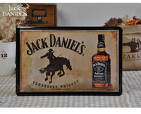 decorative tin - 20 cm TENNESSEE WHISKEY Metal Painting Tin Sign Bar Pub Wall Decor Decorative Plaques