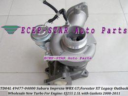 TD04L 49477-04000 14411AA710 49477 04000 Turbo turbine Turbocharger For SUBARU Impreza WRX GT Forester XT Legacy Outback 2008-11 EJ255 2.5L