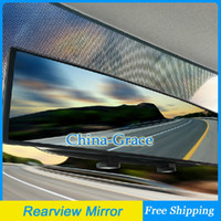 Wholesale 270mm Large Vision Car Rearview Mirror Car Interior Mirror Car Wide Angle Mirror Surface Endoscope