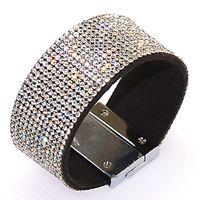 Celtic shamballa bracelets - Full crystal Bracelet Magnetic wrap Bracelet crystal bling Bracelet Wrap Shamballa Magnetic Clasp Bracelet