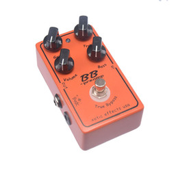 Free Shipping Guitar Effect Pedal Overdrive And Boost And True Typass MU0369