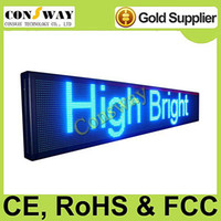 Wholesale and CE passed led light display advertising board with blue color and size cm W cm H cm D