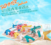 Women lady leisure shoes - The new summer han edition joker leisure female shoes with flat beaded cross bind students ladies sandals