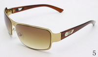 Wholesale 2016 New Fashion Square Sunglasses Men Driving Outdoors Sun Glasses Designer Spors Crocodile Gafas Oculos De Sol Masculino