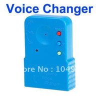 Wholesale Telephone Cell Phone Voice Sound Changer Device Microphone Sound Disguiser amp Drop Shipping