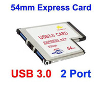 Wholesale 54mm Express USB PCMCIA Ports Card for NEC Chipset amp Drop Shipping