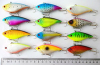Wholesale CM G Hooks fishing lures vib hard bait tackle baits artificial lure fishing gear