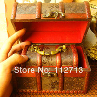 Wood Bedding Eco Friendly The latest Chinese wood box for tea storage organizers, box set jewelry display boxes vintage wholesale free shipping