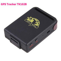 Two Way Brand-new  SPY Real-time Mini GPS Tracker GPS GSM GPRS Vehicle Car Tracking system TK102B + TF card slot free shipping
