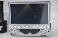 1 DIN Special In-Dash DVD Player 3.5 Inch Trainborn mp5 player 7 retractable screen 1080p hd car cd machine car dvd