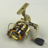 Soft Baits Spinning Yes Wholesale - 5pcs lot SG4000A metal spool Fishing Reel 5.1:1 6BB Fishing Reels spinning reel lure baitrunner Free Shipping hotselling