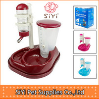 Dogs Feeding & Watering Supplies  Pet water dispenser feeder multifunctional combined type automatic pet water bowl dog food feeding dispenser,Free shipping