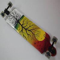 Wholesale quot Downhill Longboard Professional Longboard Layer Maple Long Board Skate Longboard Gloves