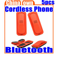 Wholesale Colombo Multi Colored Bluetooth Digital Cordless Phone With Speakerphone for iPhone s Free Express