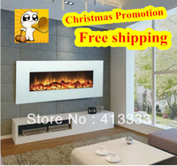 Wholesale white wall mounted electric fireplace