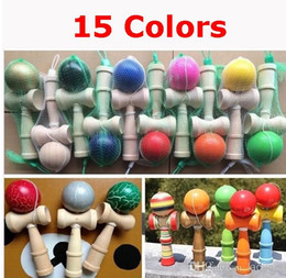 Wholesale Kendama Ball Japanese Traditional Wood Game Colors cm Toy Education Gifts Hot Sale Activity Gifts toys