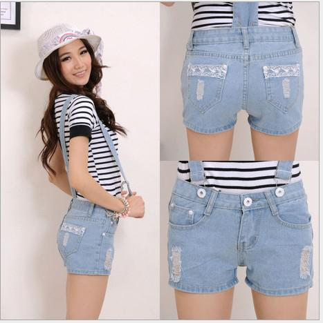 Hot Sale Summer Women Short Jeans, Pants Jumpsuit Women, Women ...