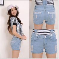 Wholesale Hot sale Summer Women Short Jeans Pants Jumpsuit Women Women Overalls Jeans