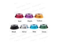 Wholesale 510 Atomizer Stand Clearomizer Cartomizer Tank RBA Aluminum Display Holder Seats e cig Shipped Free