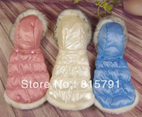 Wholesale pet clothes warm jackets teddy dog clothes winter cheap new design apparel for dogs hot sell now