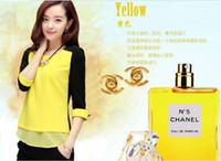 Cheap 3/4 Sleeve new 2014 Best Chiffon  blouse