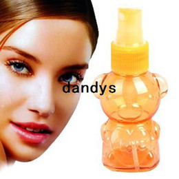 Wholesale 10pcs ml Cute Bear Mini Plastic Transparent Small Empty Spray Bottle for Make up and Skin care Perfume Bottle BFNJ dandys