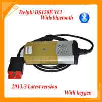 Code Reader For BMW delphi ds150e Newest Design Delphi DS150E VCI cdp + pro with V2013 .3 auto cdp+ keygen wireless connection bluetooth with full set car cables
