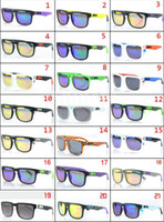 Wholesale 20 New Arrivals AAA Quality Fashion Sunglasses Outdoor Sport SPY Glasses Cycling Driving Retro Sunglasses Freeshipping