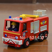 5-7 Years Car Metal Small toy lifeboat fire truck alloy model