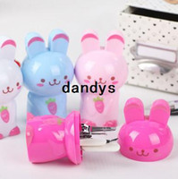 Wholesale New Arrival Cute Rabbit Shape Box Nail Care Set Utility Nail Clipper Kit Stainless Steel Manicure Set Tools BFNJ dandys