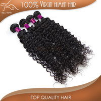 weave bulk - Virgin Brazilian Hair Weft Curly Hair Weave A Grade Braiding Bulk Hair Weft Deep Wave Mix Length inch Hair Color B DHL