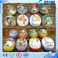 Wholesale Easter decoration cabochons Fashion easter eggs tin candy storage box all pattens available now M