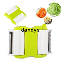Wholesale New Arrival Multifunctional Vegetable Fruit Peeler Zester Cutter Grater Kitchen tools Hot Sale BFCF dandys