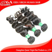 Wholesale Queen Hair Products A Virgin Malaysian Hair Weave Natural Wave Unprocessed Human Hair Weaves
